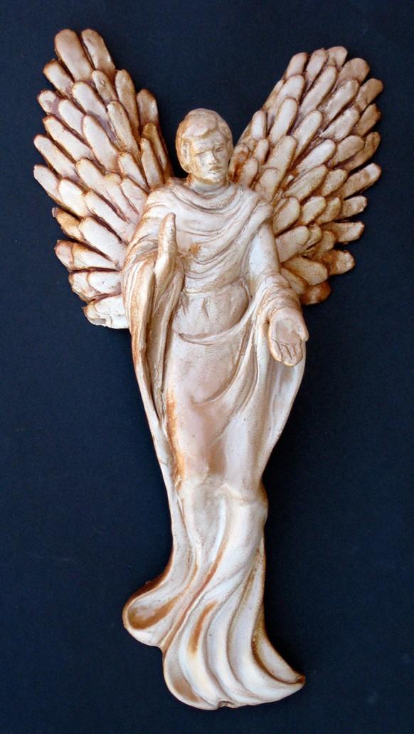 Terracuita esmaltada (40x20x11). Model de l'original SANT MIQUEL fet amb motllo.