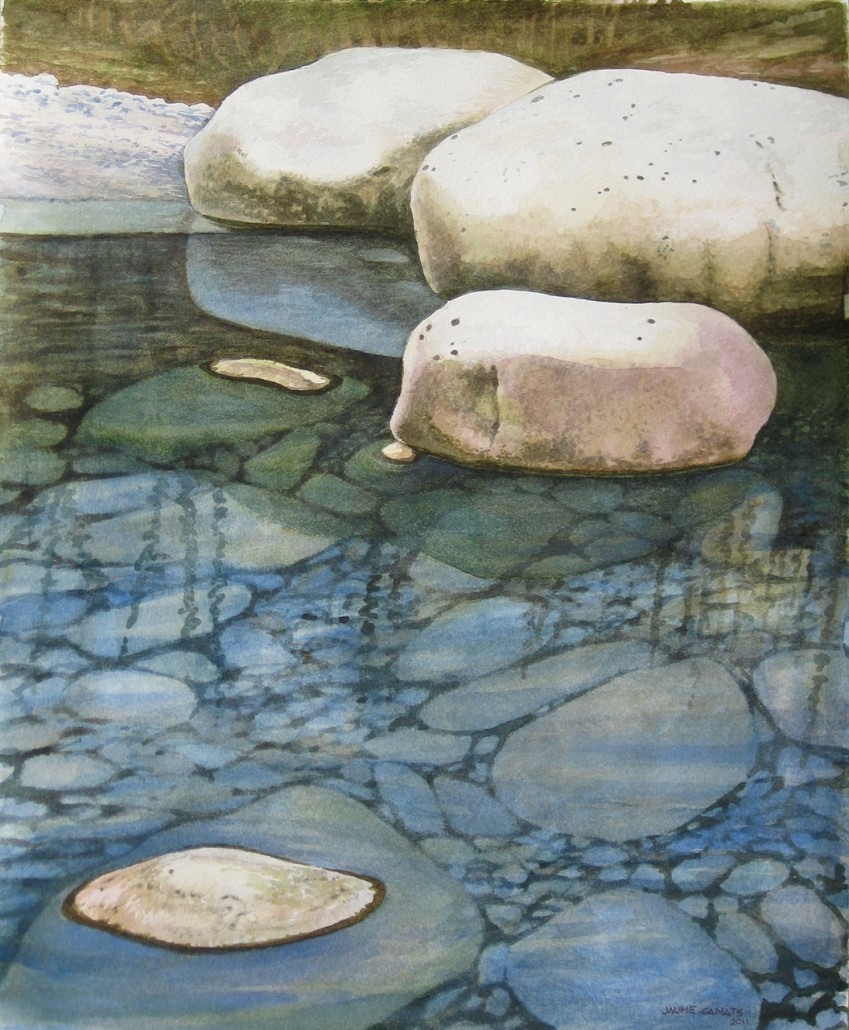 Aquarel·la sobre paper (46x38).