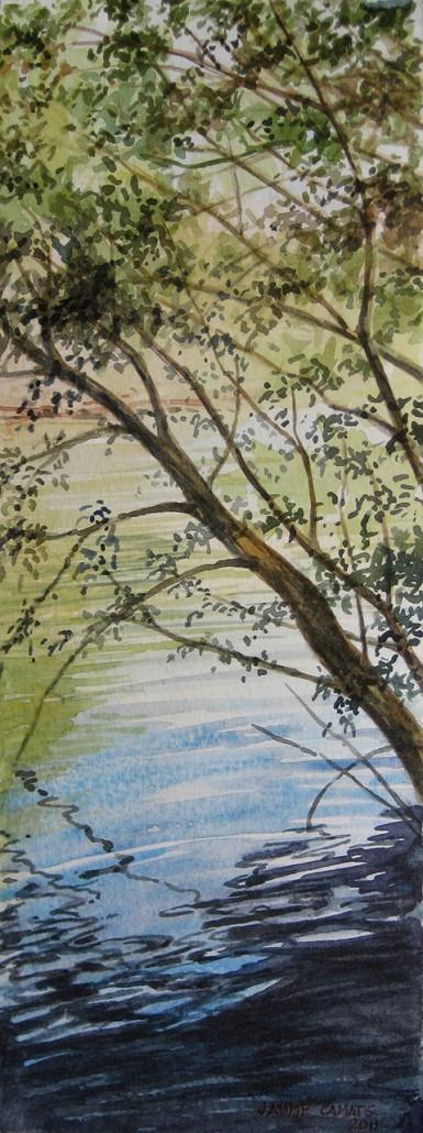 Aquarel·la sobre paper (32x12). Propietat Col·lecció Artesa.