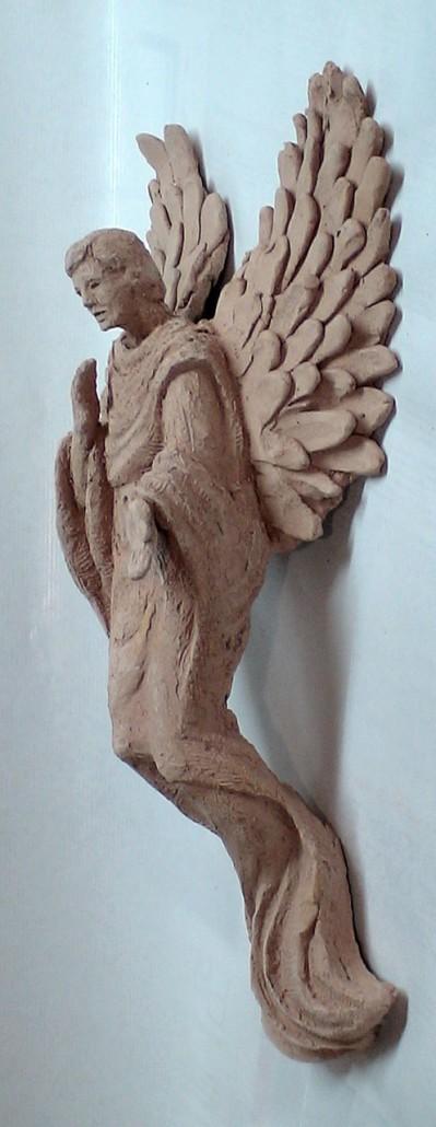 Gres (40x20x11). Original del bronze CUSTODI.