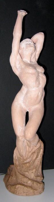 Terracuita patinada amb lactosa (41x10x15).