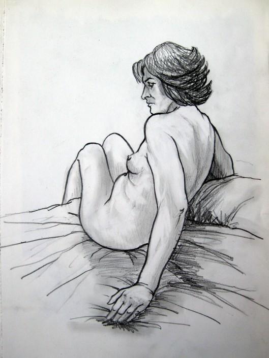 Llàpis sobre paper (35x25).