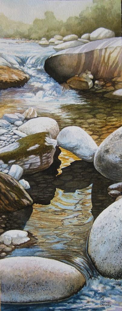 Aquarel·la sobre paper (51x20).