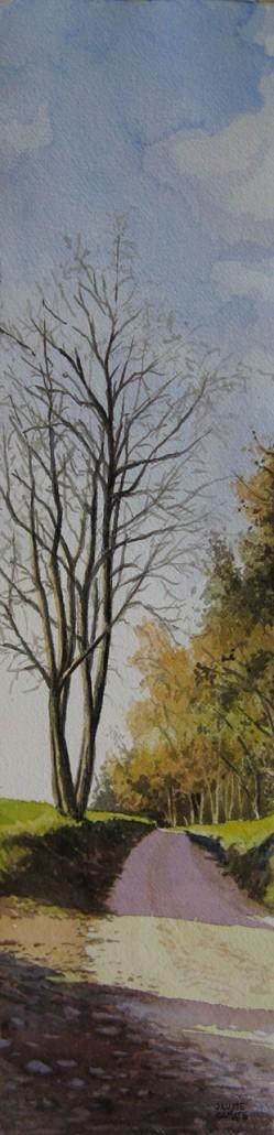 Aquarel·la sobre paper (51x12,5). Propietat de l'autor.