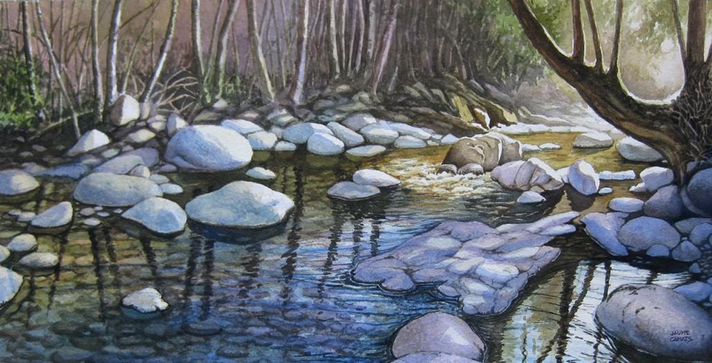 Aquarel·la sobre paper (26x51).