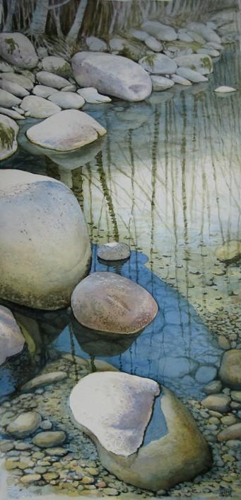 Aquarel·la sobre paper (76x37). Propietat de l'autor.
