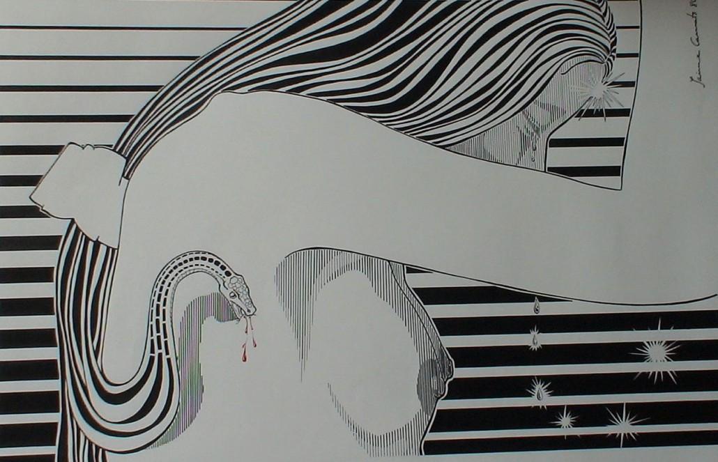 Tinta i retolador sobre paper (xxxx).