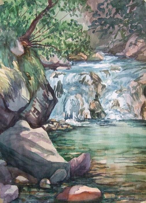 Aquarel·la sobre paper (51x36).