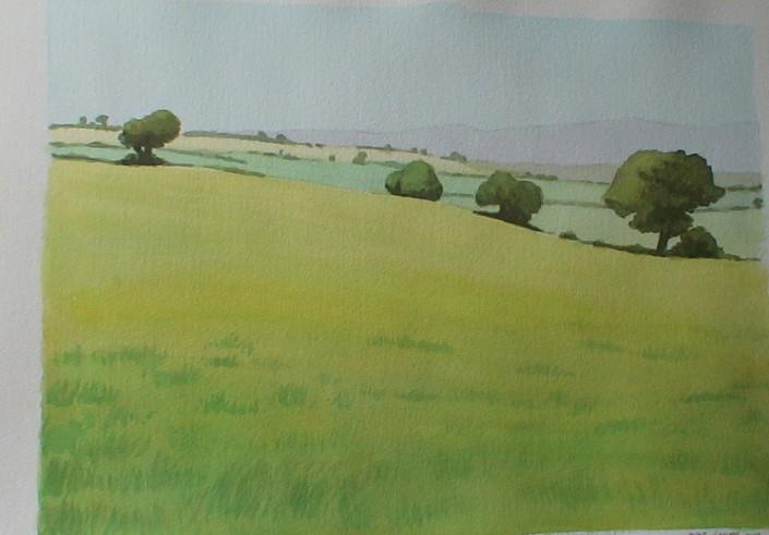 Aquarel·la sobre paper (46x61).
