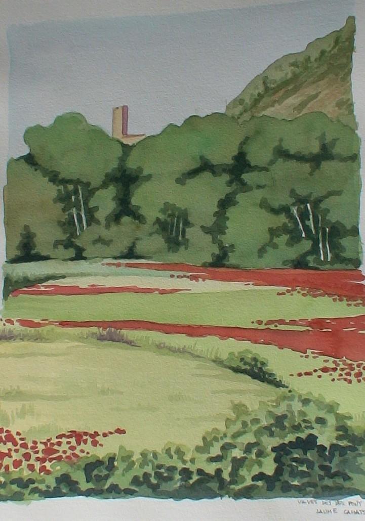 Aquarel·la sobre paper (61x46).