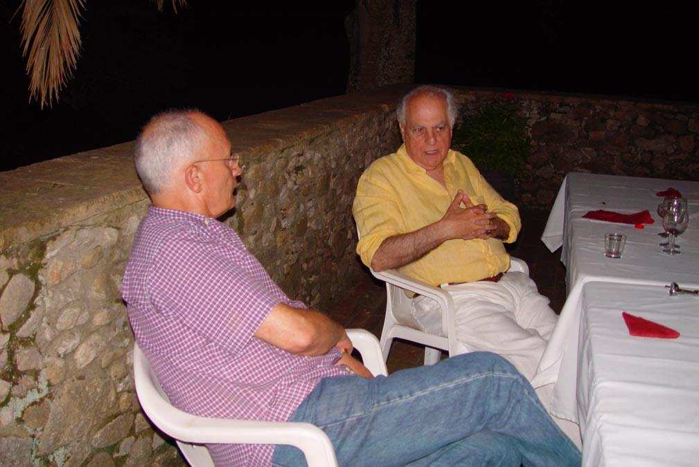Amb Tomàs Cortada a Vilademires arreglant el país.