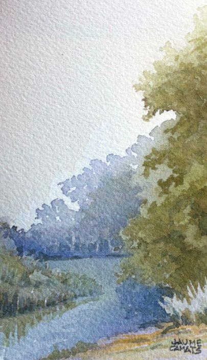 Aquarel·la sobre paper (12,5 x7,5).