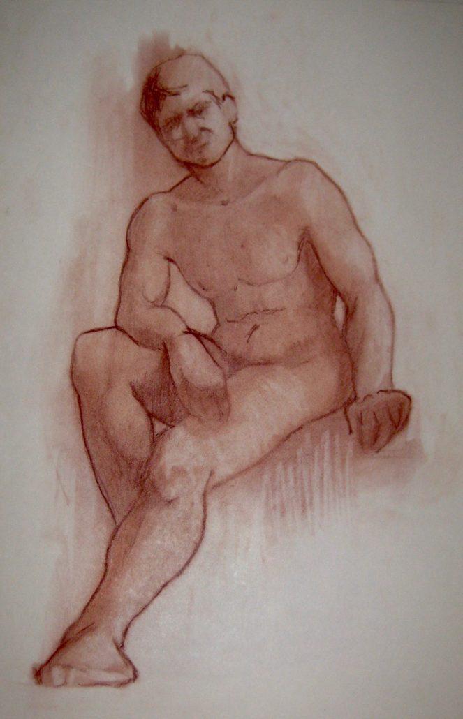 Sanguina sobre paper (50x35).