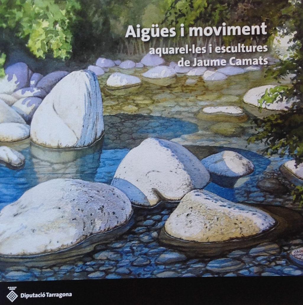 Portada del catàleg de l'exposició al Pati del Palau de la Diputació de Tarragona el 16-6-17.