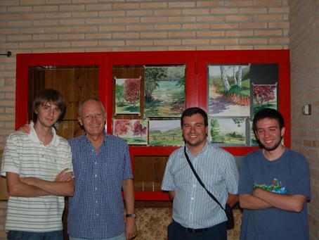 Amb tres participants a les Jornades Humanístiques de El Poblado a l'estiu del 2008.