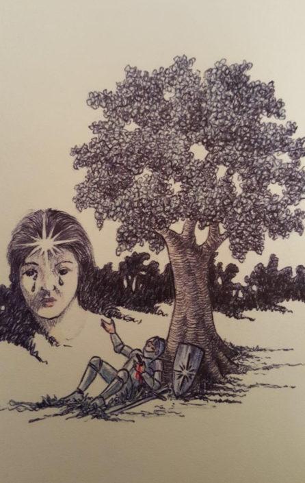 Dibuix a tinta sobre paper (xxxx). Propietat de Navarrés.