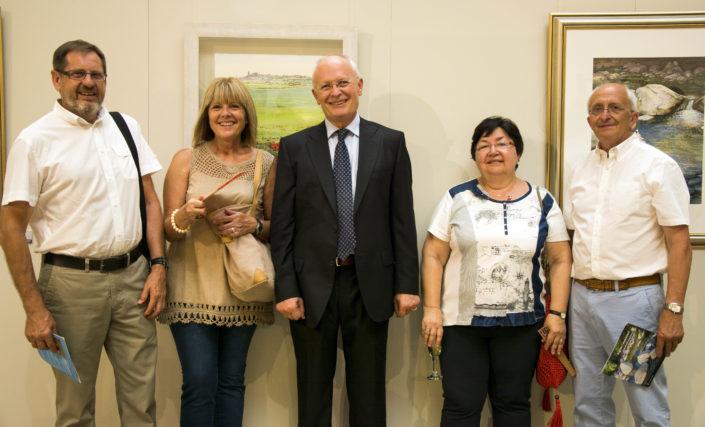 Acompanyat del meu germà Eladi i Montse i dels seus amics Jordi i Emi.