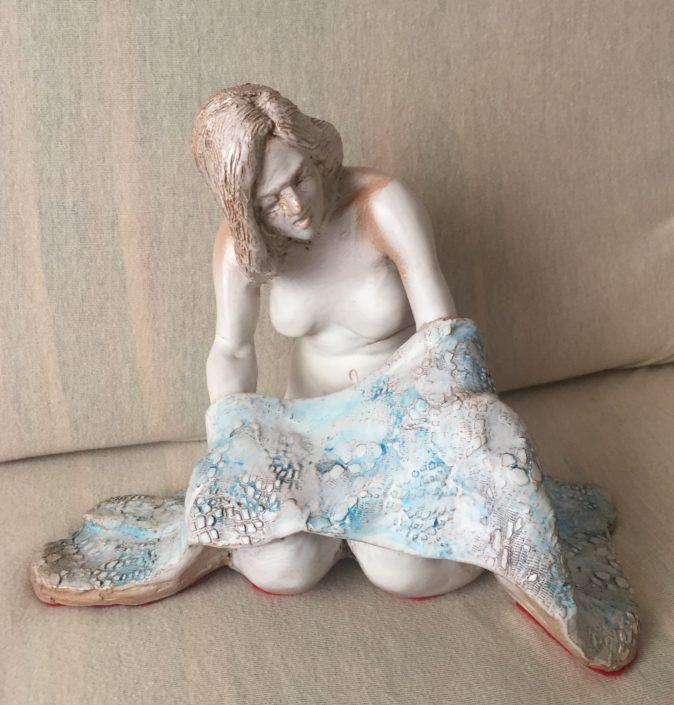 Terracuita esmaltada (23x27x17). Propietat de Miguel Angel Olivares.