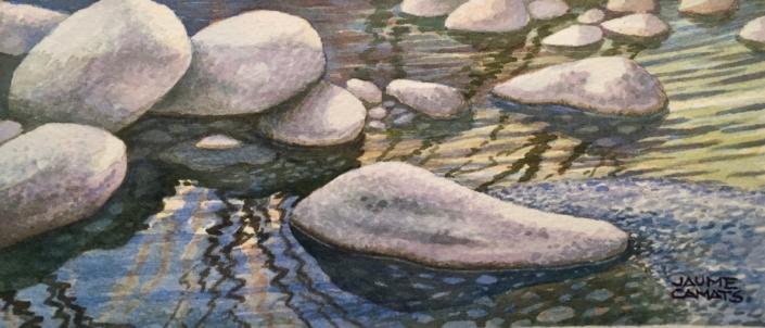 Aquarel·la sobre paper (10x20). Propietat de la familia Cané-Rúbies.