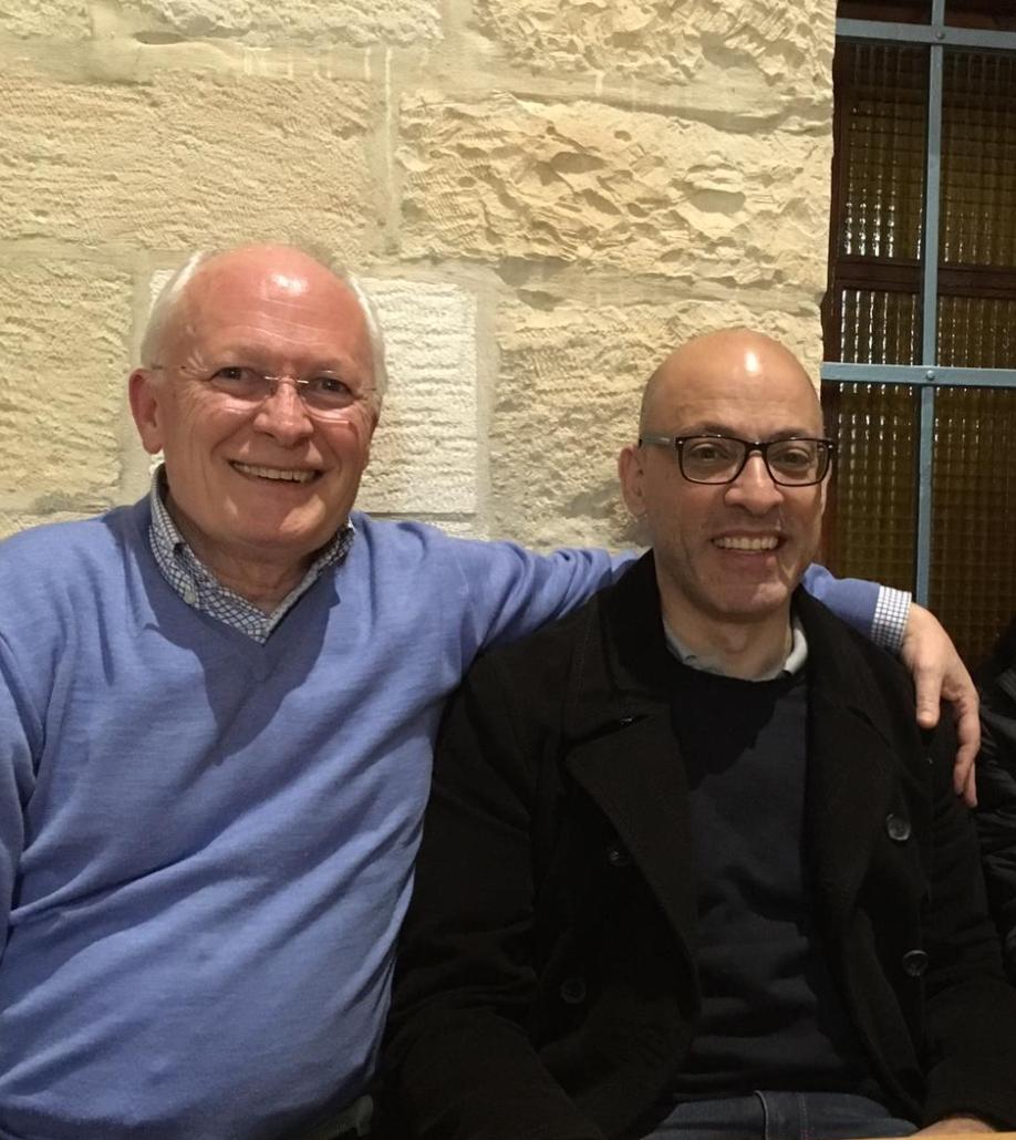 Amb Sleiman Rabadi a Jerusalem al febrer del 2019.