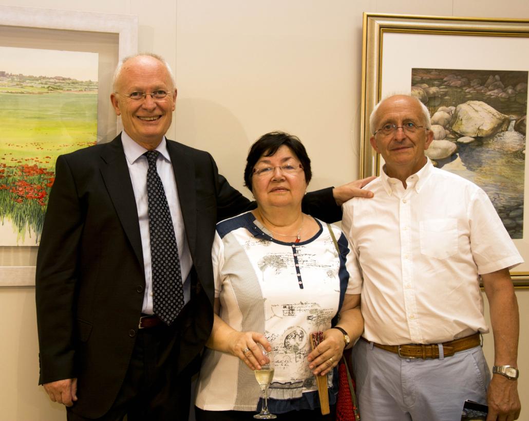 mb el meu germà Eladi i la seva esposa Montse.