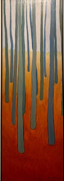 Oli sobre fusta (xxxxx). Propietat d'Anna Camats.